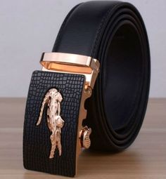 ZABARDO - HOMME BLACK COWSKIN - GENUINE LEATHER BELT 2016 LATEST STYLE MEN S DESIGNER LEATHER BELTS AUTOMATIC BUCKLE MASCULINE DESIGNER HIGH END