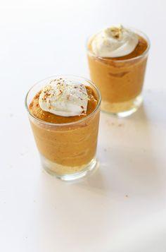 Mini Vegan Pumpkin Pies with Coconut Whipped Cream | minimalistbaker.com #vegan #glutenfree optional