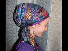 How to Cover your WHOLE Head with a Sari Scarf!