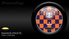 Boyacá Chicó FC - Veja mais Wallpapers e baixe de graça em nosso Blog. Visite-nos http://soccerflags.tumblr.com