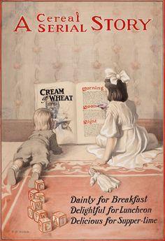 Elisha Bird - Cream of Wheat Ad