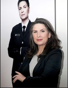 Pamela Rabe (the Governor) at the Wentworth season 2 launch. Photo: Fotogroup She is so stunning....Yes Governor...