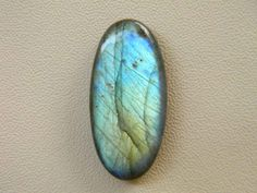 32x15 mm Natural Blue Labradorite Stone Oval Shape Blue