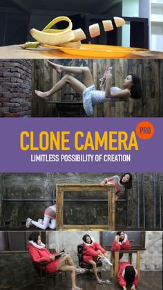 (adsbygoogle = window.adsbygoogle || []).push();   	Clone Camera v2.3 [Pro] 	Requirements: 4.0+ 	Overview: Want to create photos that stand out? Wish you could clone yourself? CloneCamera helps you create flawless clone photos!    	  	 	There's no preset frames, so let your...