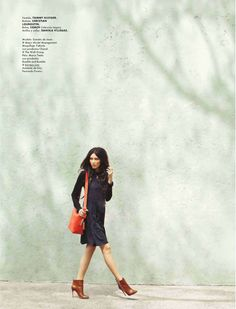 visual optimism; daily fashion fix.: una manana linda: daniela de jesus by santiago ruisenor for elle mexico september 2012