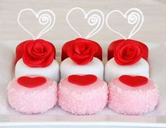 Valentines Petits Four Tutorials- made from Oreos!