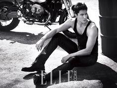 Daniel Henney - Elle Magazine November Issue '14