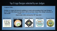Indian Technology Congress 2013 Logo Design Competition_Results TOP 5 innovative designs selected for finals.