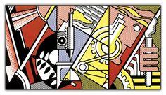 Roy Lichtenstein, Peace through chemistry I, ©