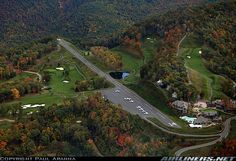 Burnsville-Mountain Air (North Carolina) 2NC0...nothing like having a runway right off a golf course