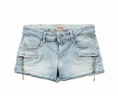 Denim + Cuoio: shorts Replay #moda