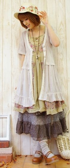 the holly hobbie look. (actually i almost like this.. just a little too over the frumpy edge)