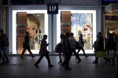 Gap Oxford Street framing