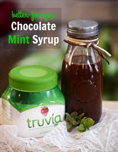 Syrup made with @Truvia use in milk, with fruit and in these Greek ...