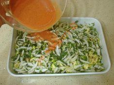 Kabak Sinkonta Tarifi Yapılış Aşaması 11/16 Appetizer Salads, Appetizers, Iftar, Homemade Beauty Products, Keto, Healthy Snacks, Cabbage, Food And Drink, Cooking Recipes