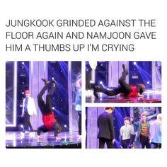 Kim Namjoon! What kind of things are you teaching him.