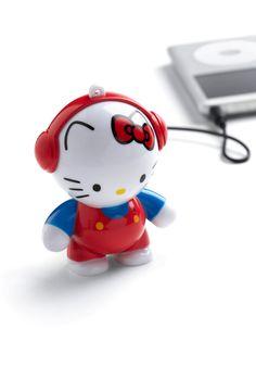 Hello Kitty portable speakers!!
