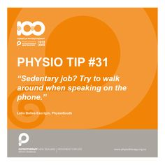 walk around #physiotips