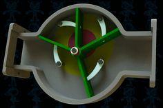 Four Blades Pump Mechanism - Parasolid,SOLIDWORKS - 3D CAD model - GrabCAD
