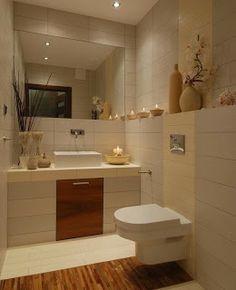 Idea decorar baño pequeño