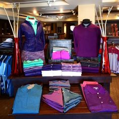 #petermillar Displays by Katrina Navarrete Katrina@valleycountryclub.org