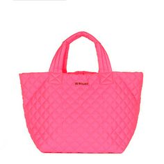 Small Metro Tote | Neon Pink Our ultimate everyday, everywhere tote in a bold bright neon...