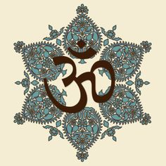 """""""Ommmm"""" -Chanting this tone creates a vibrational frequency of harmony in the body. Starting ending with this harmony can only improve your self awareness. Namaste, Hamsa, Affirmations, Om Shanti Om, Buddha Buddhism, Om Symbol, Spiritus, Yoga Art, Indian Art"""