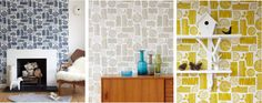 £52.00   this wallpaper would look brilliant in my living room alongside my 1950's sideboard