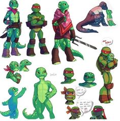 TMNT Irrilia Sketches by WinterHeath on DeviantArt Ninja Turtles Art, Teenage Mutant Ninja Turtles, Big Heroes, Tmnt Girls, Boys, Character Art, Character Design, Tmnt 2012, Cartoon Shows