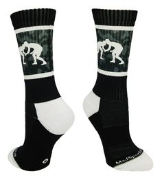 Shop our wide variety of funky sports socks and apparel to get added color to any sport. We even have accessories for every sport. Buy now and save instantly! Wrestling Mom Shirts, Wrestling Quotes, Wrestling Wwe, Wrestling Workout, Olympic Wrestling, College Wrestling, Basketball Games For Kids, Basketball Socks, Basketball Season