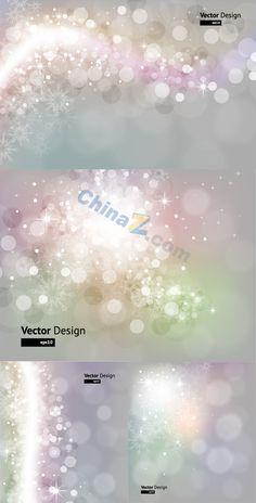 Dream soft spot background vector graphics download