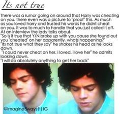 I'm sorry but I won't do this to you I'll never break up with any of them!!