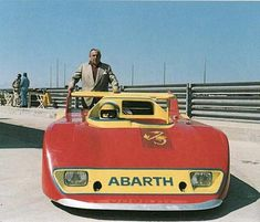Abarth 2000 SE027 conçue par Pininfarina