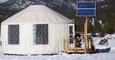 The Eagle Yurt - Rainier Yurts