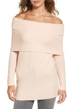 Trouvé Off the Shoulder Tunic available at #Nordstrom