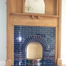 Other colours available, please check pic 1930s Fireplace, Art Deco Fireplace, Fireplace Mantle, Fireplace Surrounds, Fireplace Design, Fireplace Tiles, Edwardian Fireplace, Vintage Fireplace, Living Room