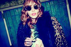 Its all about the faux fur... leopard print faux fur coat £59.99