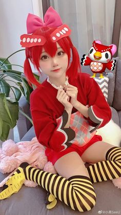 Kawaii Cosplay, Cute Cosplay, Cosplay Outfits, Cosplay Girls, Cosplay Costumes, Cosplay Ideas, Cute Kawaii Girl, Children Photography Poses, Animal Crossing Characters