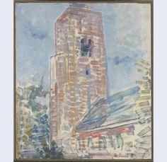 Kerk te Oostkapelle, Piet Mondriaan, 1908-1909.