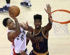 Blog Esportivo do Suíço:  Dupla dos Raptors ofusca LeBron, time bate os Cavs e empata série em 2 a 2