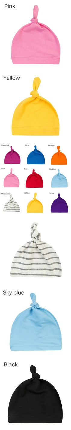 2017 Hot Sale Kids Sleeping Hats Boys Girls Soft Cotton Blend Cap Lovely Child Beanies Kids Apparel High Quality