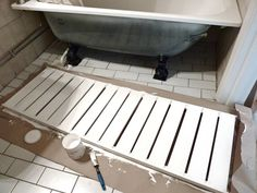 The Glorious GORM Bathtub Front Panel - IKEA Hackers