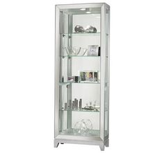 shop for howard miller shayne curio cabinet and other living room curio cabinets at in metro detroit and grand rapids mi