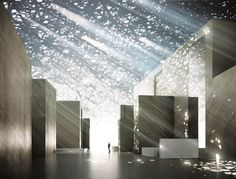 Unique Cutouts in Roof of Louvre Abu Dhabi Create Patterns in Light - My Modern Met