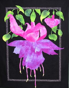 Nancy Sterett Martin -Fuschia beautiful  http://www.quilt-patches.com/gallery-detail.php?RECORD_INDEX%28gallery%29=10