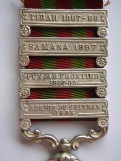1895 India General Service Medal (4 Bars) - 30th Bengal Infantry