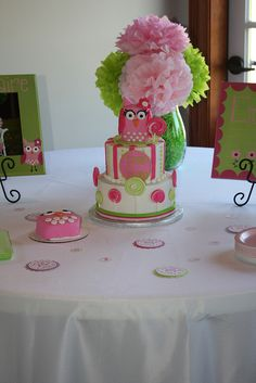 Owl 1st Birthday Party | Flickr - Photo Sharing!