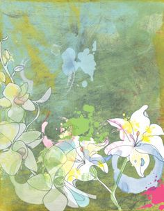 Lilies and Orchids Jan Weiss