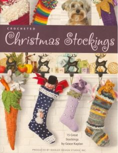 Picture of Crocheted Christmas Stockings