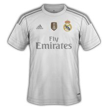 Real Madrid 2016 maillot foot domicile 2015 2016